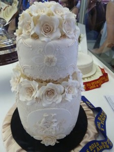 First Prize winner SREA2013 Wedding Cake. Just Incredible.